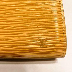 Louis Vuitton Bags - Louis Vuitton Yellow Epi Leather Cosmetic Pouch